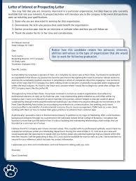 letter of interest sample letter of interest format letter of interest for job 02