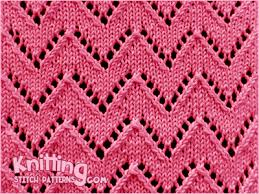 Chevron Knitting Pattern Simple Chevron 48 Knitting Stitch Patterns