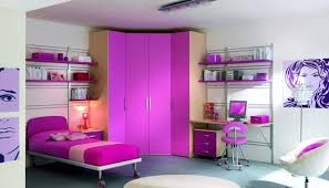 Stunning Bedroom Ideas For Teenage Girls With Purple Colors Theme