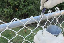 color vinyl chain link fence aaa fence inc view larger painting