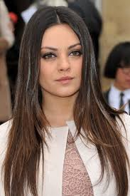 top 10 celebrities with straight hair style