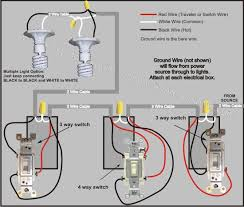 4 way switch wiring diagram how to wire a 2 way light switch 4 way switch wiring diagram power from lights