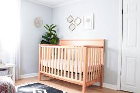 baby room for girl. A Sweet And Minimal Modern + Classic Baby Girl Nursery (shared Infant \u0026  Toddler Room For