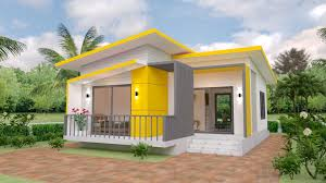 Architectural Designs For Small Houses House Plans 7 5x11 With 2 Bedrooms Full Plans House Plans S