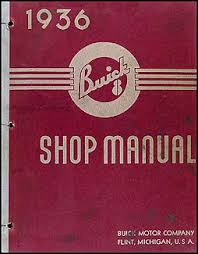 find any buick part this parts locating guide 1936 buick repair shop manual original all models