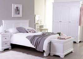 Solid Wood Bedroom Furniture White - House of All Furniture : Up in ...