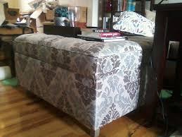 a diy upholstered ottoman