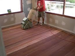 how to sand a floor
