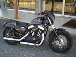 Harley Davidson Evolution Sportster 48 Black Lilie