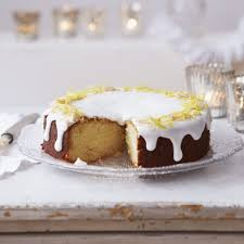 Lemon And Marzipan Drizzle Cake Dessert Recipes Womanhome