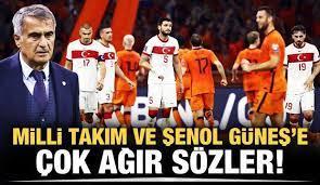 Milli Takım ve Şenol Güneş'e ağır sözler! - Tüm Spor Haber