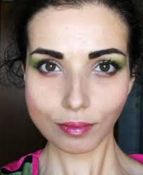 80 s easy make up perfect for face make up by valentina chirico