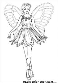 Small Picture Fairy girl flying princess coloring pages online