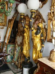 lamp statue floor lamp unique bronze lady blackamoor lamps of luxury photos clubanfi pair dorm cast