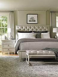 Grey Tufted Headboard Platform Bed Bedroom Ideas What Color ...