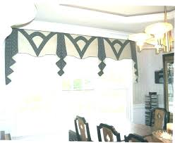modern window valance treatments diy kitchen ideas style decorating adorable cornice