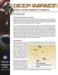 Deep Impact Mission Fact Sheet