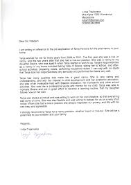 Collection Of Solutions Template Of Reference Letter For Nanny For