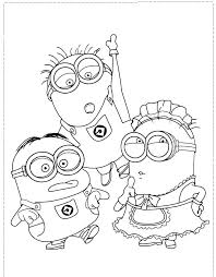 minion pictures to print deable free minion pictures to print and colour