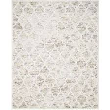 safavieh himalaya gray ivory 8 ft x 10 ft area rug him121a 8 the home depot