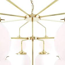 polished brass chandelier large gold polished brass chandelier with opal glass globe shades polished brass chandelier