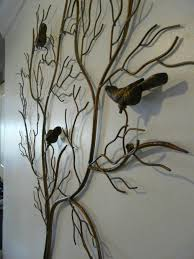 giant metal tree wall art
