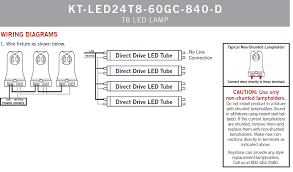 keystone kt led32t8 72gc 850 d direct drive 6 32w led t8 5000k