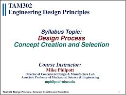 Mechanical Design Ppt Ppt Tam302 Engineering Design Principles Powerpoint