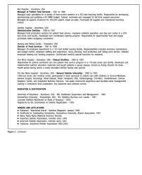 dietitian resume nutritionist resume sample londa britishcollege co