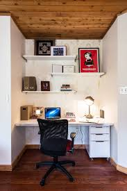 small office decorating ideas. Cool-small-office-decorating-ideas-with-damask-wallpaper- Small Office Decorating Ideas