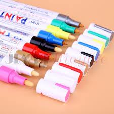 <b>MUQZI</b> 9 Colors Permanent Marker Waterproof Metal Art Marker Pen ...