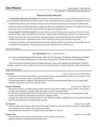 Graduate School Cv Template Graduate School Admissions Resume Resume For Grad School Graduate