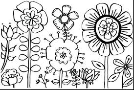 Rose Flowers Colouring Pages Awesome Design Flower For Page
