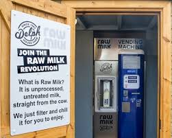Fresh Milk Vending Machine Interesting The White Stuff Yorkshire Farmers Join Raw Milk Revolution With