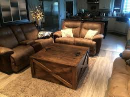 up graded pallet coffee table