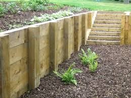 sleeper retaining walls wall timber adelaide concrete design guide