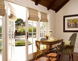 trendy office designs blinds. View In Gallery Home Office With Roman Shades Trendy Designs Blinds O