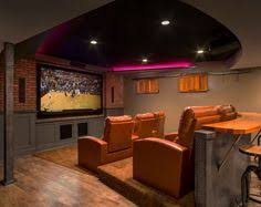 basement theater ideas. Contemporary Basement Custom Designed Bar Adds To The Appeal Of Basement Home Theater  Design CHC Creative Remodeling With Basement Theater Ideas L