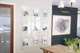 we ordered the 16 20 acrylic frames with brass standoffs from an called highland hardware they have a bunch of sizes thousands of s and lots