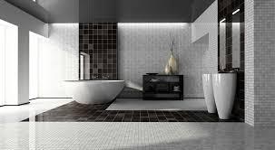 ceramic tile modern bathroom black gray tile