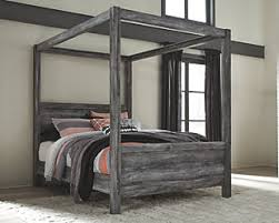 king size canopy bed ashley furniture. Exellent Bed Large Baystorm Queen Poster Bed Gray Rollover And King Size Canopy Bed Ashley Furniture E