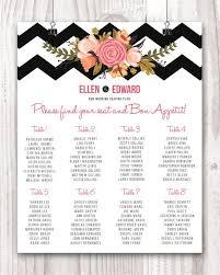Wedding Seating Chart Wedding Seating Sign Wedding Seating