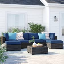 Sol 72 outdoor barwick 7 piece sectional set with cushions reviews wayfair