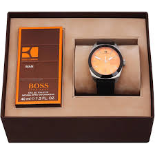men s hugo boss orange gents fragrance gift set watch 1570022 mens hugo boss orange gents fragrance gift set watch 1570022