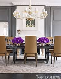 enlarge werner straube contrasting gray dining room