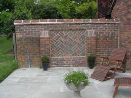 Small Picture Expansive Terra Cotta Tile Boundary Wall Designs With Gate Table Lamps