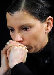 Die Witwe Von Robert Enke Der Selbstmord Begangen Hat Teresa Enke