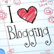 I love bloggin