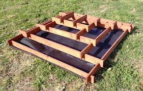 how to make a slot together pyramid planter diy projects for everyone
