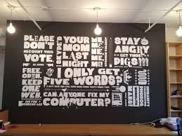 cool office wall art. Concept For How To Incorporate Your Keywords Onto Walls.this Great A Hallway Too Cool Office Wall Art F